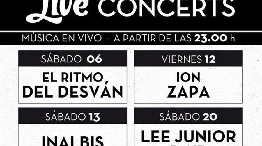 FEBRERO – Live Concerts