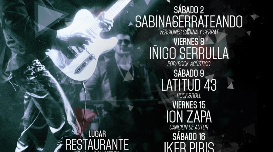 Live Concerts Abril